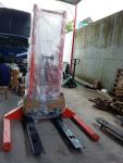 Xe nâng bán tự động SES10/45 chân khuỳnh dùng cho pallet 2 mặt