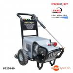 Máy xịt rửa xe áp lực cao PROJET P2200-15 cho tiệm rửa xe chuyên nghiệp
