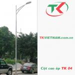 Cột đèn đường phố 6m