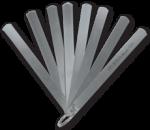 Thước cặp đo khe hở 20 tấm (0.05-1.00mm).