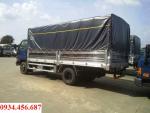 Xe 6,5 tấn hd98 lên tải từ xe 3,5 tấn