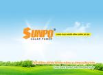 May nang luong mat troi Sunpo