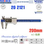 Thước cặp điện tử 200mm, IP67 - Vogel Germany