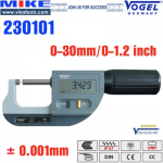 Panme điện tử đo ngoài 0-25mm
