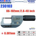 Panme điện tử đo ngoài 66-102 mm