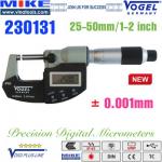 Panme điện tử 25-50 mm NEW, IP65, USB