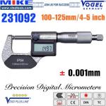 Panme điện tử 100-125 mm, IP54