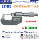 Panme điện tử 250-275 mm, IP54, drum mm