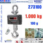 Cân treo điện tử - Cân cẩu - Crane Scale - Tải trọng 1 tấn