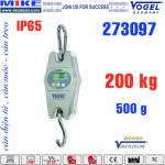 Cân móc điện tử 200kg - IP65