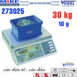 Cân điện tử đếm sản phẩm - Cân công nghiệp - Cân đếm. Tải trọng 30kg.