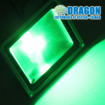 Đèn pha LED 150W xanh lá, xanh dương – đủ 100% công suất