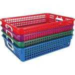 Rổ nhựa, thùng nhựa đặc, thùng nhựa đan giá sỉ