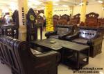 Bộ bàn ghế đẹp gỗ mun, Bộ Tời Thượng Hải B101