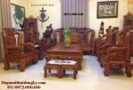 Bộ bàn ghế đồng kỵ gỗ đinh hương mẫu hồng trĩ B104