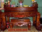 Bàn thờ đẹp, Án gian tứ linh dogonoithatdongky.com ST31