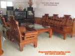 Mẫu Bàn ghế gỗ hương đẹp Kiểu Tần Thủy Hoàng AU06