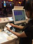 Bộ máy bán hàng cảm ứng quản lý thu chi doanh số quán cafe shop