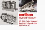 BƠM CHÂN KHÔNG OERLIKON LEYBOLD, TRIVAC D16B ATEX Part No.140160