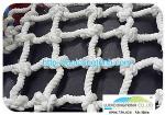 Lưới bảo hộ lao động chất liệu sợi dù màu trắng