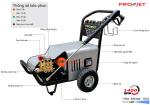 Máy xịt rửa cao áp 7.5kw PROJET P7500-18