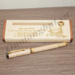 bút gỗ khắc tên làm quà tặng