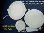 đèn led panel siêu mỏng