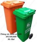 Thùng rác công cộng 240 lít nhập khẩu giá siêu rẻ