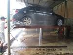 Cầu nâng 1 trụ rửa xe ô tô tại HCM