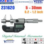 Panme điện tử 100-125 mm, IP54, drum inch