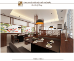 Tư vấn thiết kế nhà hàng Nhật sang trọng và hiện đại