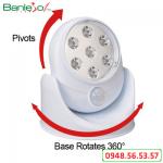 Đèn LED chiếu sáng cảm ứng hồng ngoại