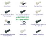 Bulong ốc vít tán rivet nhựa Nylon- Reny