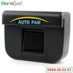 Quạt thông gió ô tô năng lượng mặt trời Auto Fan – Quạt tản nhiệt cho ô tô