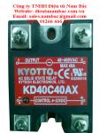 Rơ le bán dẫn KYOTTO SSR KYOTTO KD40C40AX