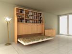 Giường thông minh + tủ sách V-Home