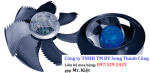 Quạt cắt gió, Quạt lưu thông gió, Quạt đẩy công nghiệp, hãng Ziehl Abegg, Đức