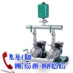 Máy bơm  tăng áp tích hợp biến tần chịu nhiệt  WILO PBI-LD 403EA
