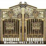 Cửa Cổng Nhôm Đúc - Cửa Đẹp Và Sang Trọng