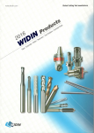 Dụng cụ cắt gọt WIDIN - KOREA