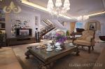 Thiết kế nội thất biệt thự Vinhomes Riverside Hoa Sữa tân cổ điển