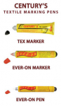 bút đánh dấu không phai trên vải Everon