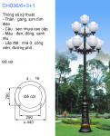 Trụ đèn trang trí sân vườn