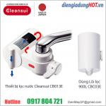 Thiết bị lọc nước tiêu chuẩn cao Cleansui CB013E. LH: 0917804721