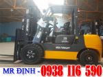 Bán xe nâng dầu 3 tấn/3.5 tấn, giá rẻ (LH: Mr Định – 0938 116 590)