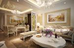 Thiết kế nội thất tân cổ điển tại chung cư Royal City