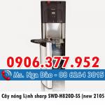 Cây nóng lạnh sharp SWD-H820D-SS kiểu mới nhất thị trường 2015