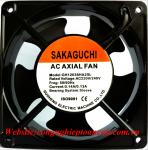Quạt Sakaguchi GH15050HA2SL, 220VAC, 150x150x50mm