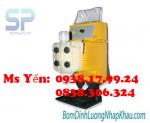 Chuyên cung cấp máy bơm chất lượng tốt nhất hiện nay - MÁY BƠM ĐỊNH LƯỢNG INJECTA AT.BX3 KIỂU ĐIỆN TỬ 1 PHA