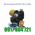 Máy bơm nước tăng áp PW-139EA (1/6HP). LH: 0917804721